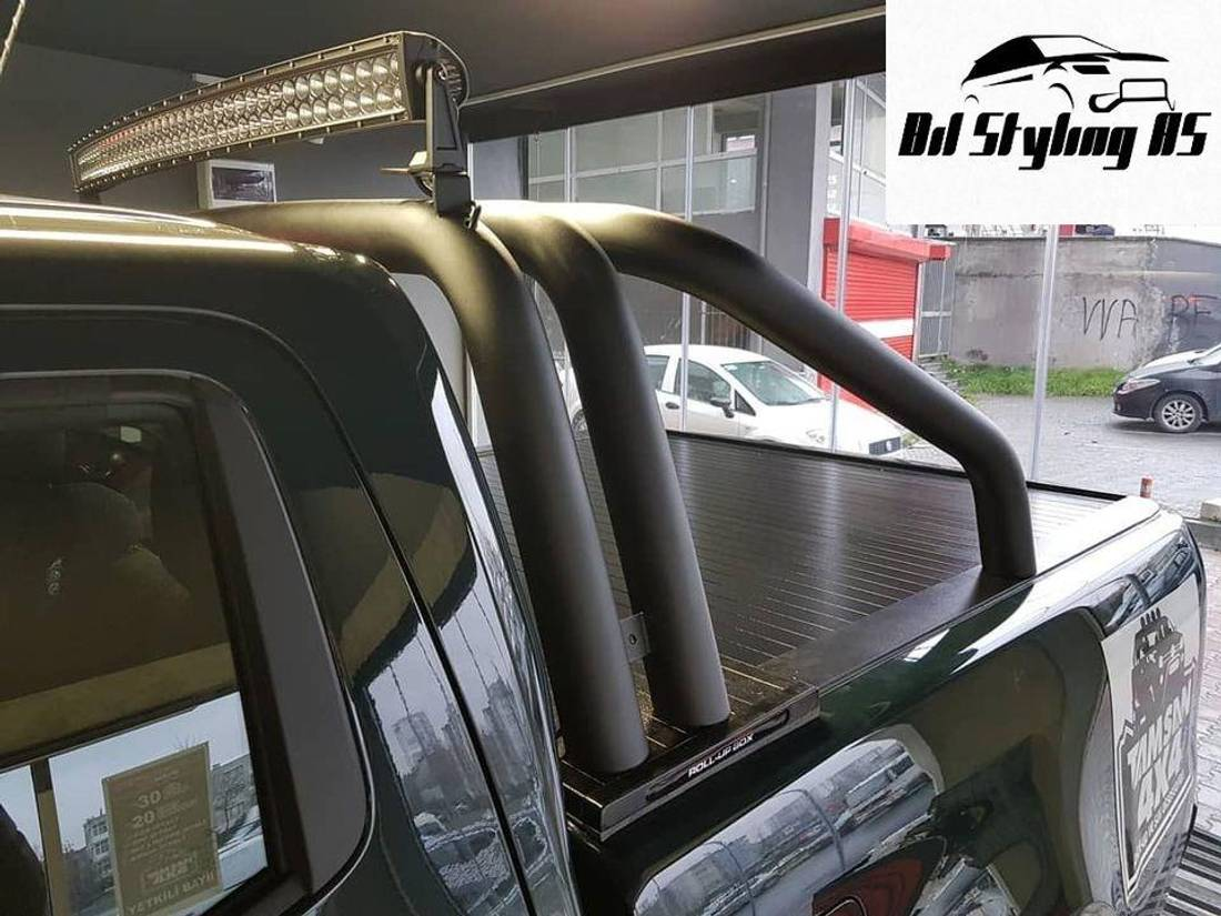 Veltebøyle Treling Mercedes X-CLASS 2017->+ Sort